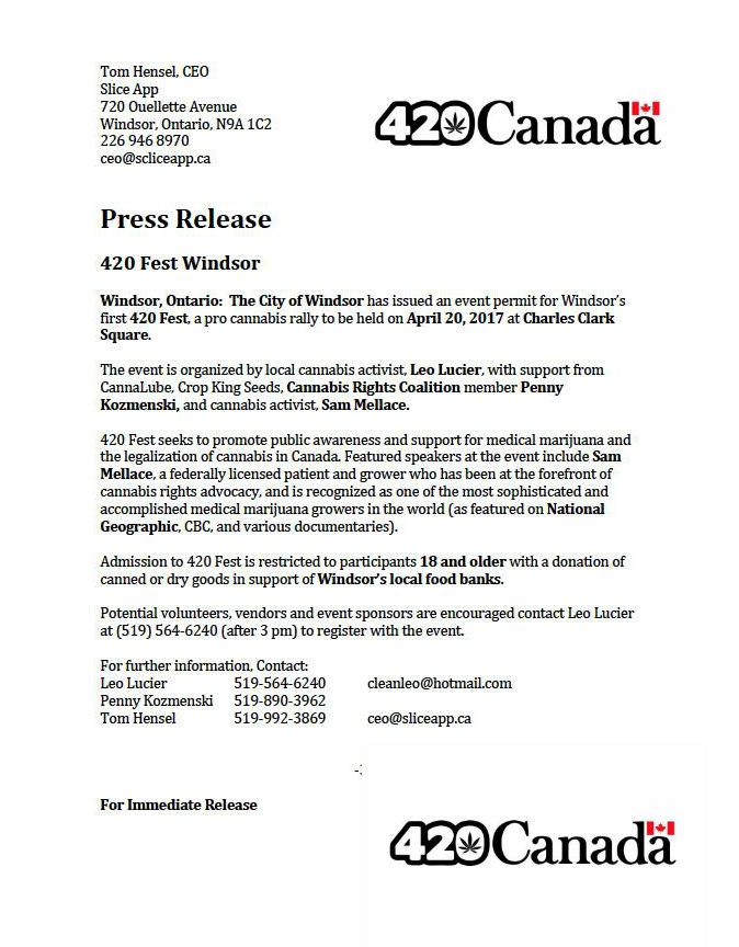420 Windsor Ontario 2017