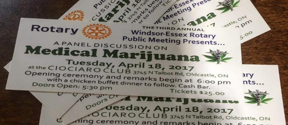 Windsor Essex Rotary Club Marijuana information night
