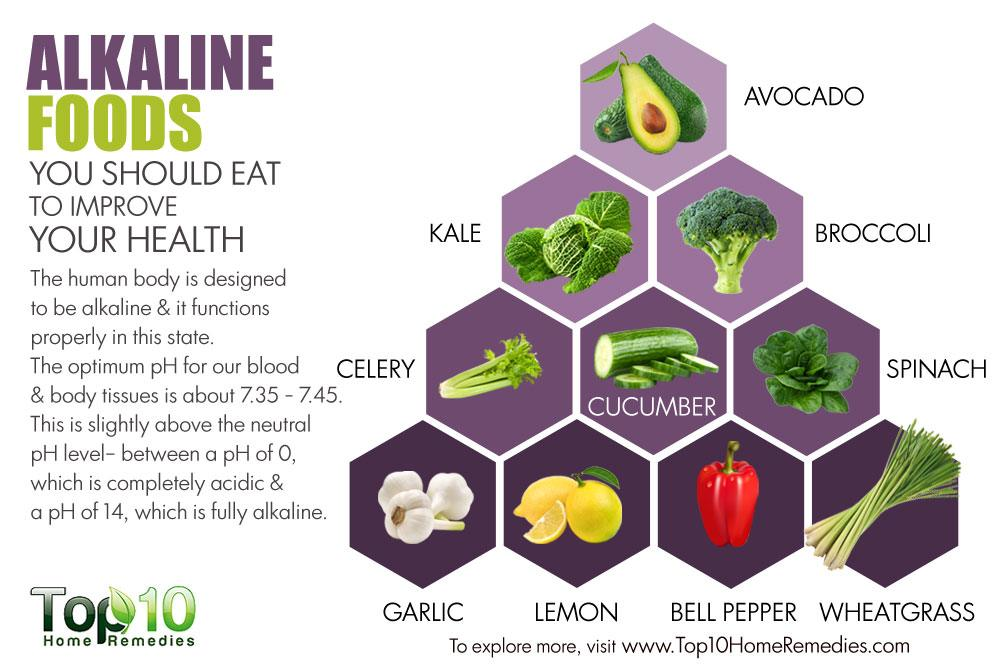 alkaline food groups