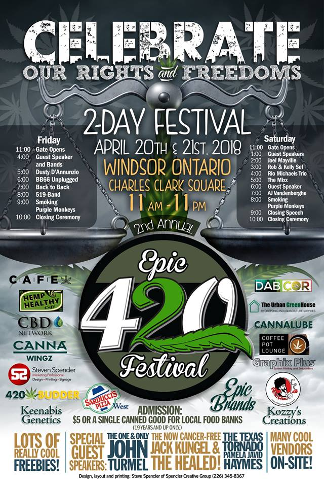 What can you expect at the 420 event