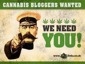 cannabis blogger